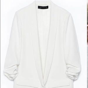 Zara cream color Blazer